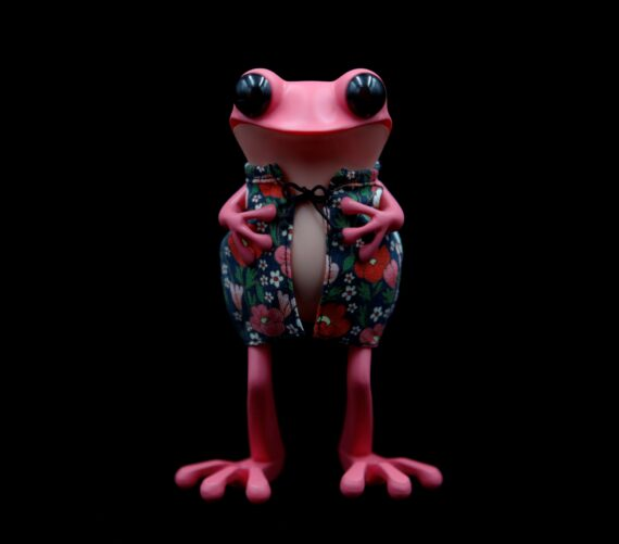 APO Frogs: Midnight Blossoms  by Twelvedot