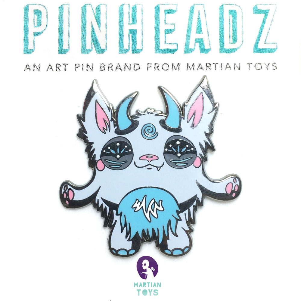PinHeadz - Heather Hyatt - Baby Yeti Pin