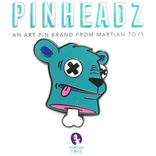 PinHeadz - Betso - Decapitated Bear Pin