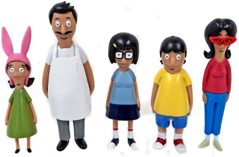 Bobs Burgers 5 Figure Pack