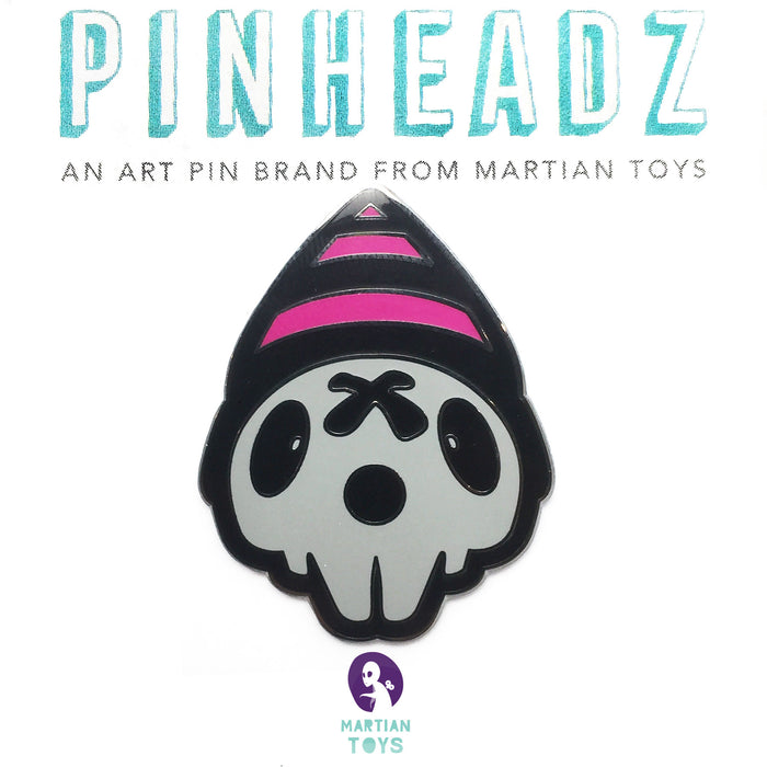 PinHeadz - Heath Duntz - Boy in the Corner Logo Pin