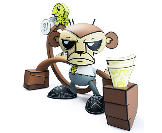 Monkey - Business Monkey  by Joe Ledbetter