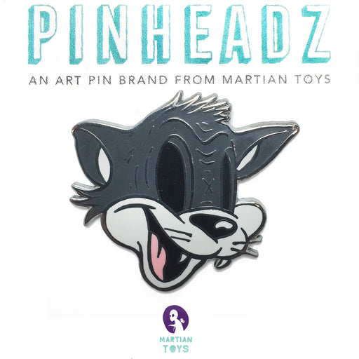 PinHeadz - Cote Escriva - Creepy Cat Pin