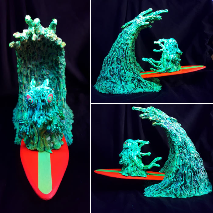 MonsterBeachParty  -  sHrEDORAH by Cloun9