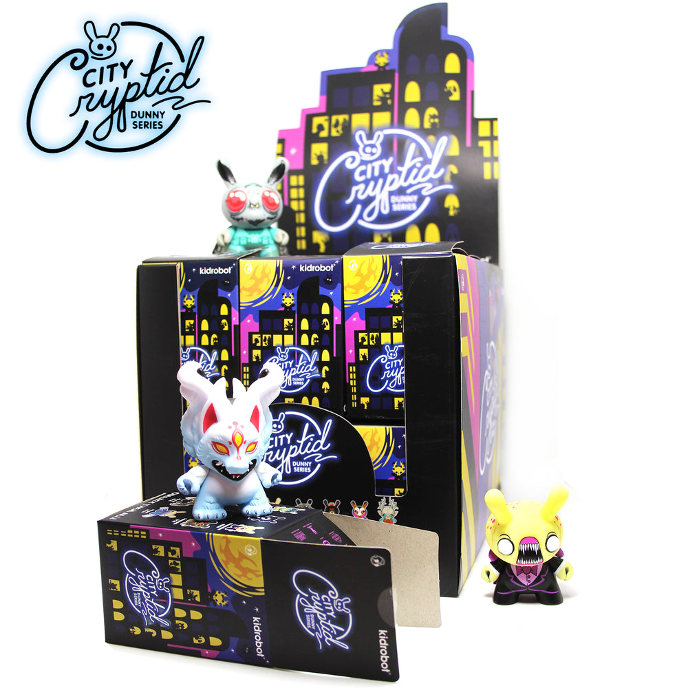 City Cryptids Dunny Blind Box Series by Kidrobot