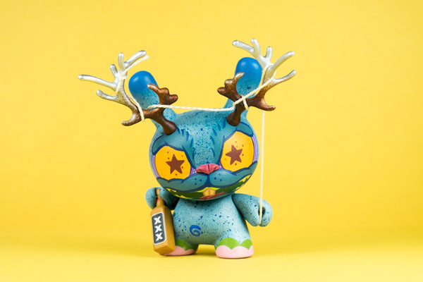 El Borracho: The Drunk Easter Jackalope by RXSE7EN