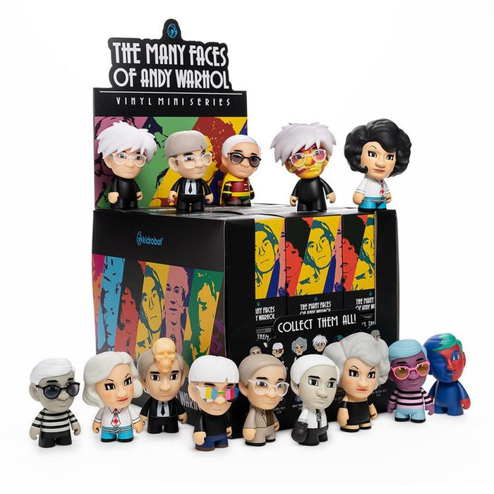 The Many Faces of Andy Warhol  BlindBox Series  by Kidrobot