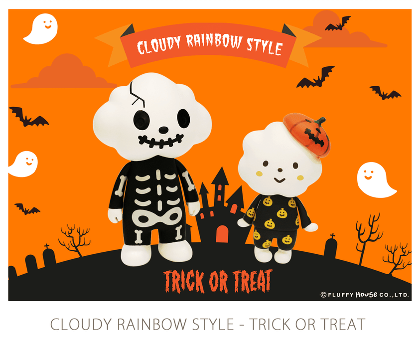 TRICK OR TREAT Mr Cloud & Miss Rainbow By Fluffy House