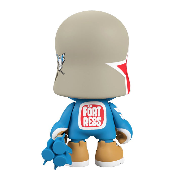 "BLUE Bunker Janky SUPERJANKY 8""  by  Flying Fortress x Superplastic"