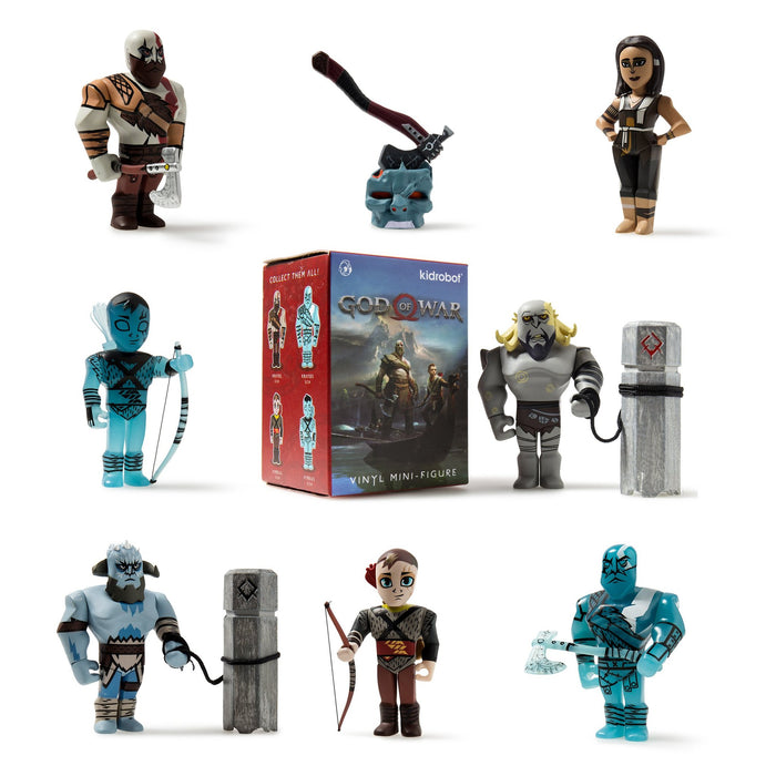 God of War x Kidrobot Blind Box