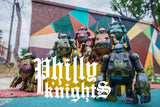 Philly Knights - Custom Touma Retro Robots by RXSEVEN & 3DHero