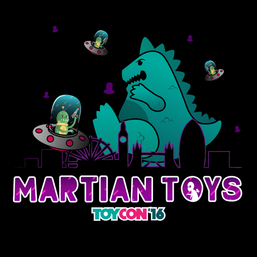 Martian Toys | ToyCon UK '16 T-shirt - limited supplies