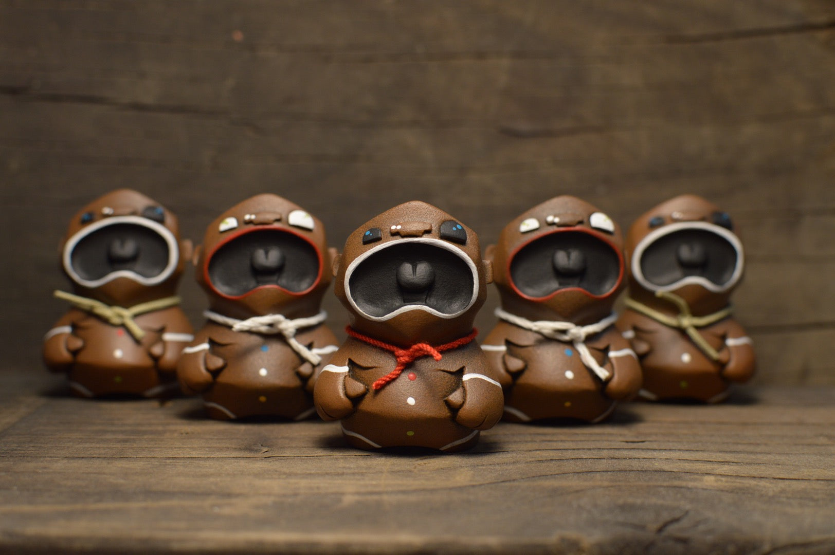 DarkestNight  -  Frank Montano :  GingerBread MicroBeasts