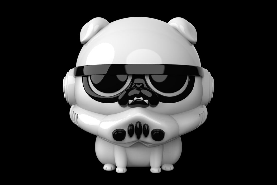 Dog Vader & Dog Trooper by Kaze Studio