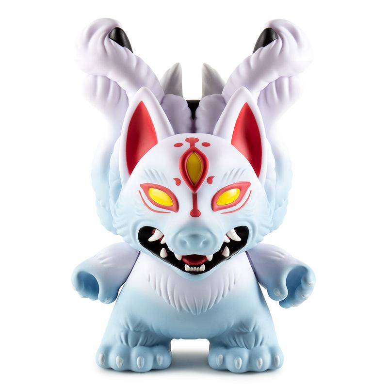 "Kyuubi 8"" Dunny by Candie Bolton x Kidrobot"