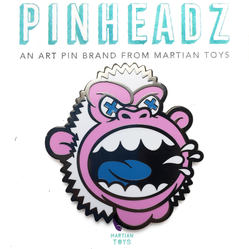 PinHeadz - Mad Toy Design - MAD Ape : Yeti Variant