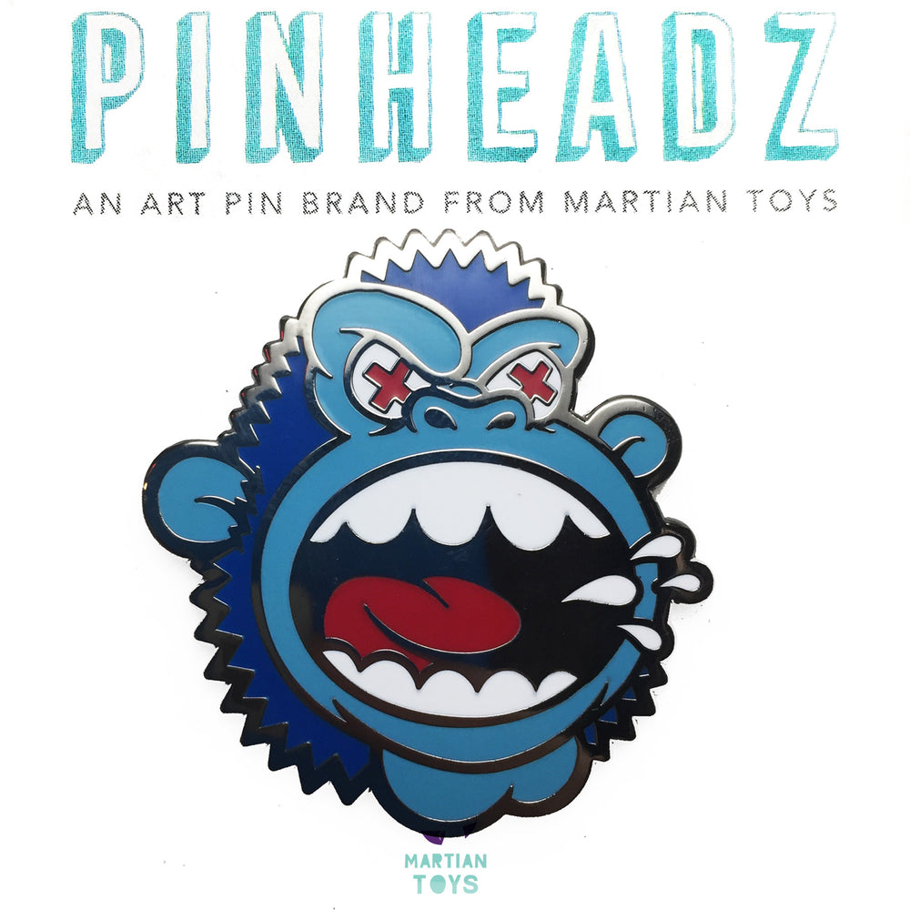 PinHeadz - Mad Toy Design - MAD Ape : Blueberry Variant