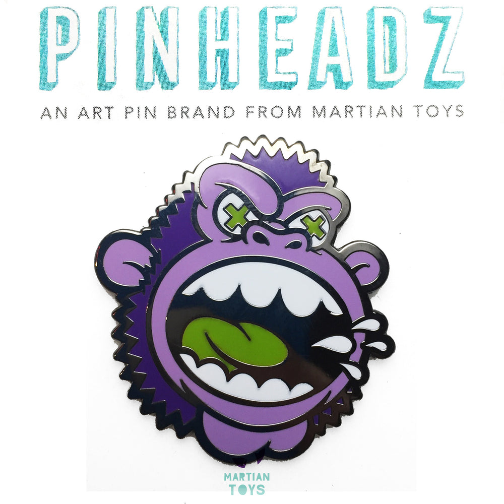 PinHeadz - Mad Toy Design - MAD Ape : Grape Variant