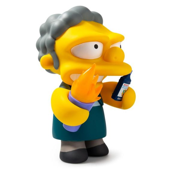 "Flamin Moe's 7"" Simpsons Figure by Kidrobot"
