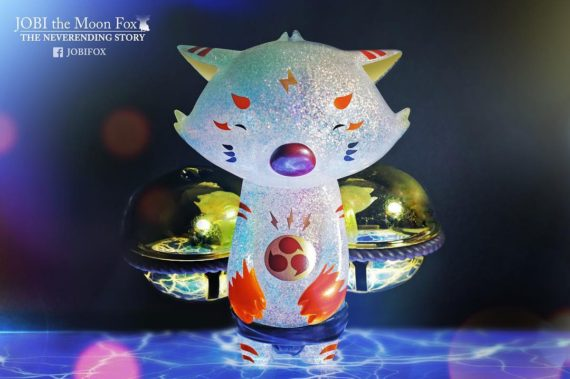 Jobi the Moon Fox : Monitor (Brave Heart ver.) BTS 2018 Exclusive by OK Luna
