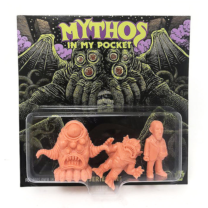 Mythos in My Pocket Series1 FLESH  by  Sam Heimer x HH Toy Co.