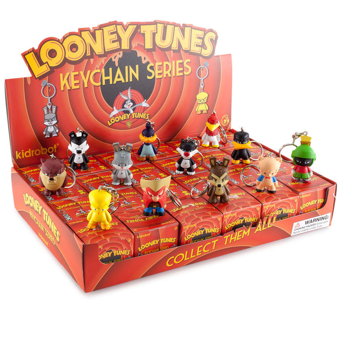 "Looney Tunes 1.5"" Keychains by Kidrobot"