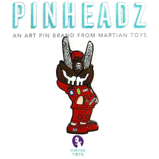 Pinheadz OTOMOTeq63 FULL FRONTAL   by Quiccs  x  Martian Toys