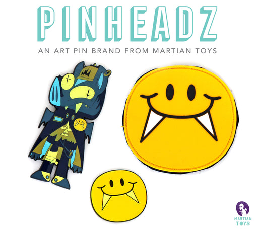 PinHeadz - Christian Michael - Bat Boyz Club