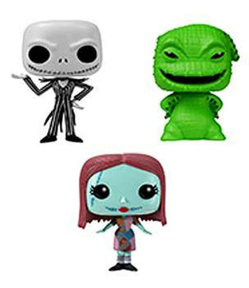 Pocket POP - Nightmare Before Christmas - 3pack Figures