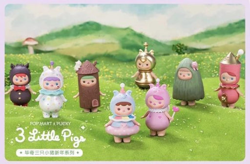 3 Little Pigs Mini Series by Pucky x Pop Mart