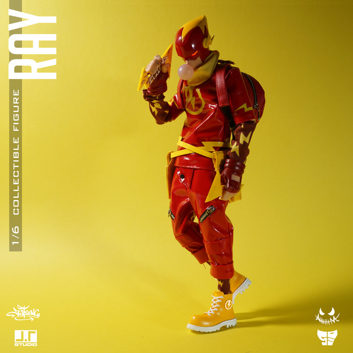 RAY 1/6th scale Flash Action Figure by JT Studios