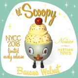 Lil' Scoopy Banana Walnut by Nouar x Martian Toys