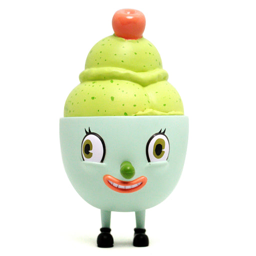 Lil' Scoopy Green Tea  by  Nouar  x  Martian Toys
