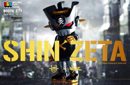 SHIN ZETA  by  Quiccs  x  Devil Toys