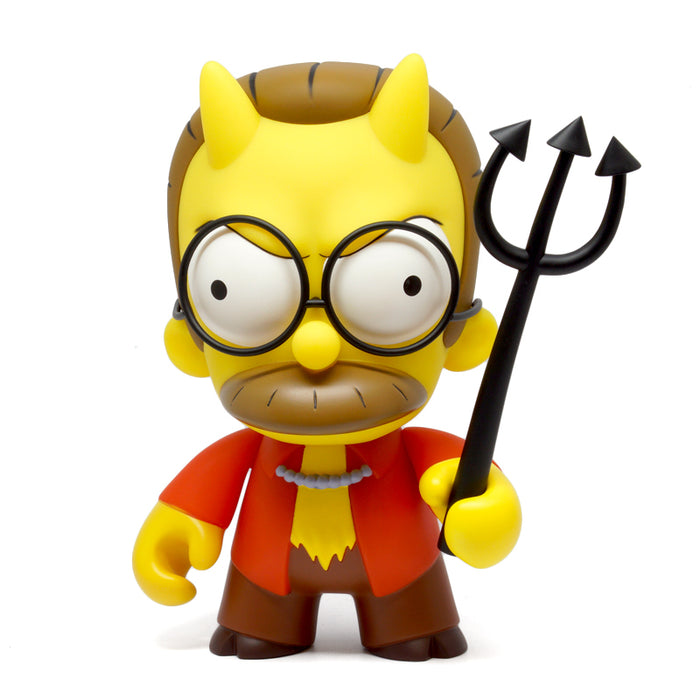 "Devil Flanders 7"" Simpsons by Kidrobot"
