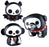 Skelanimals Max, Diego, and Marcy Flocked Vinyl Toys