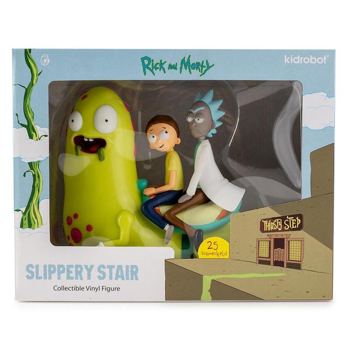 Rick and Morty Slippery Stair by Kidrobot x Adult Swim