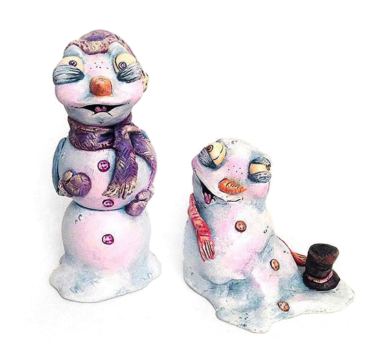 SugarPlumShow  -  Snowflake & Puddle  by  One Eyed Girl