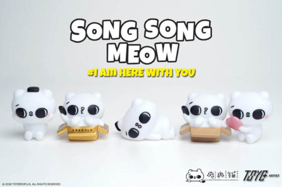 Song Song Meow by SECOND x Toyzero Plus
