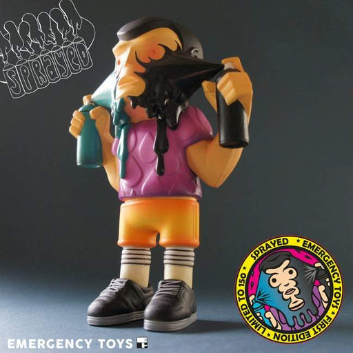 Sprayed First Edition by Emergency Toys
