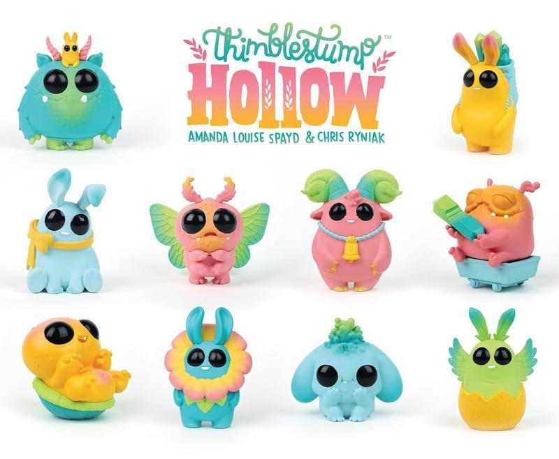 Thimblestump Hollow Series 2 Blind Boxes by Amanda Louise Spayd & Chris Ryniak