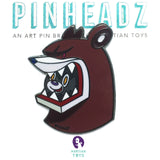 PinHeadz - an Art Pin brand by Martian Toys
