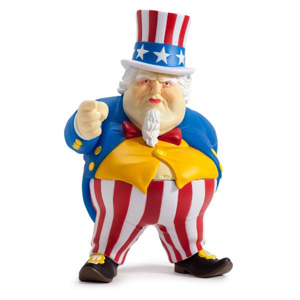 Uncle Sam by Ron English Kidrobot