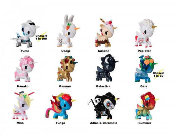 Unicorno Series 6 Blind Box by TokiDoki