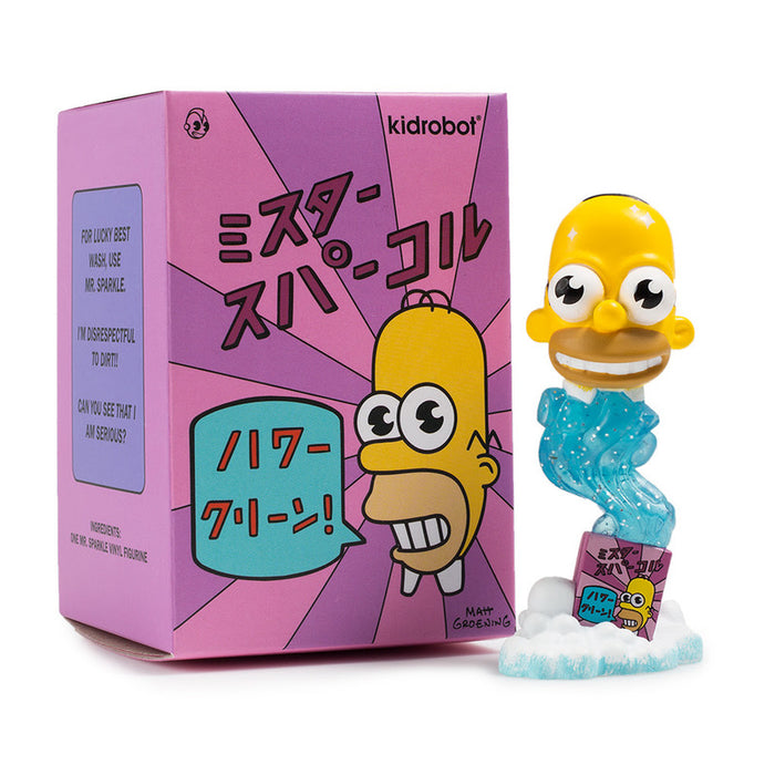 Mr Sparkle 3 Inch Simpsons by Kidrobot