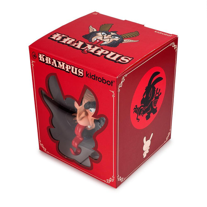 "Krampus 5"" Dunny by Scott Tolleson + Seriously Silly K"