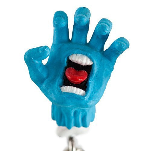 Santa Cruz Screaming Hand Zipper Pulls By Kidrobot