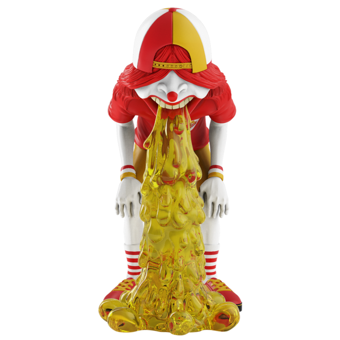 Vomit Kid FastFoodRED Edition by OKEH x Mighty Jaxx