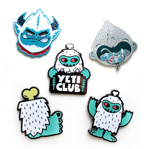 WorldWarYeti  -  Yeti Pins!