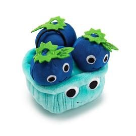 Yummy World Blueberry Plush Ornament